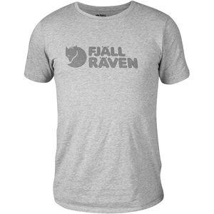 Fjällräven Logo T-Shirt Herren grey grey