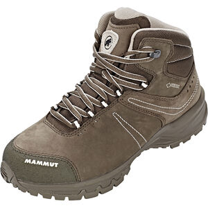 Mammut Nova III Mid GTX Shoes Damen bark-white bark-white