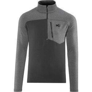 Millet Technostretch Zip Shirt Herren noir/heather tarmac noir/heather tarmac