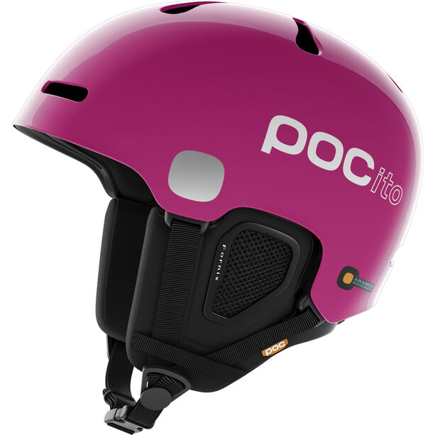 POC POCito Fornix Helmet Kinder fluorescent pink