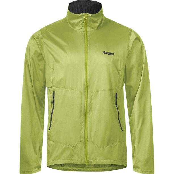 Bergans Fløyen Jacket Herren sprout green/solid dark grey
