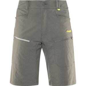 Bergans Utne Shorts Herren graphite/solid light grey/spring leaves graphite/solid light grey/spring leaves