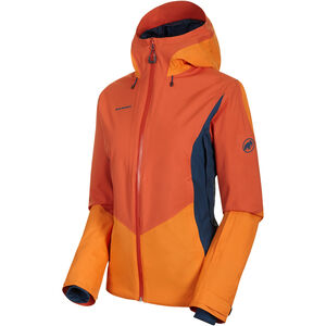 Mammut Casanna HS Thermo Kapuzenjacke Damen pepper-cheddar-wing teal pepper-cheddar-wing teal