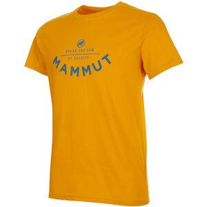 Mammut Seile T-Shirt Herren golden PRT2 golden PRT2