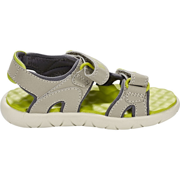 Timberland Perkins Row 2-Strap Sandals Kinder medium grey