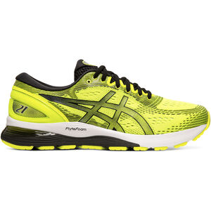 asics Gel-Nimbus 21 Shoes Herren safety yellow/black