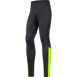 GORE WEAR R3 Thermo Tights Herren black/neon yellow black/neon yellow