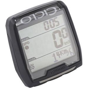 Ciclosport CM 4.21 Fahrradcomputer mit Herzfrequenzmessung schwarz schwarz