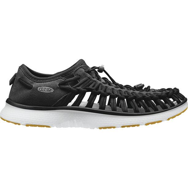 Keen Uneek O2 Sandals Herren black/harvest gold