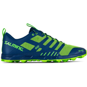 Salming OT Comp Shoes Herren poseidon blue/safety yellow poseidon blue/safety yellow