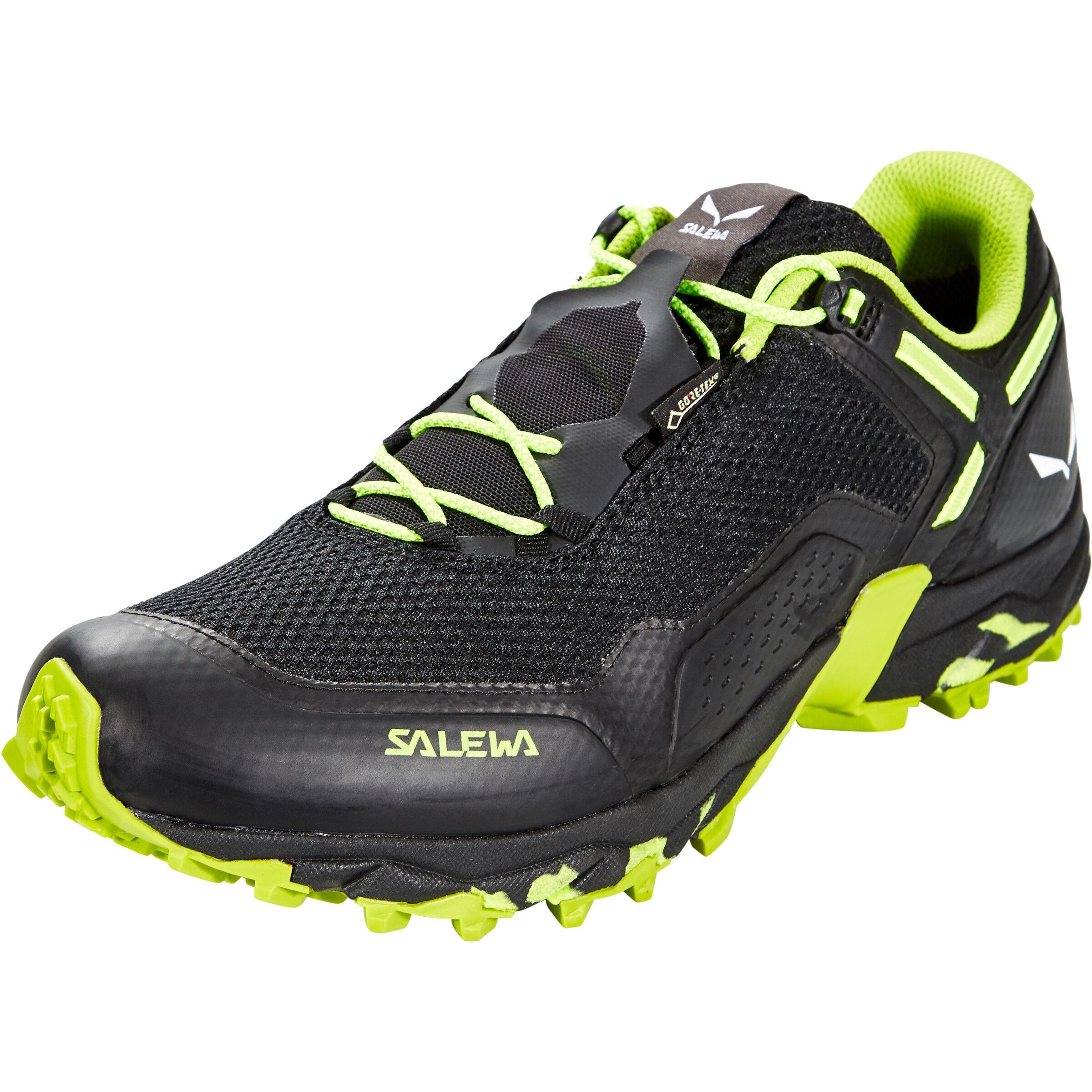 SALEWA Speed Beat GTX Shoes Herren black outfluo yellow