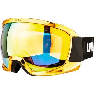 UVEX Contest FM Ski Goggles chrome gold chrome gold