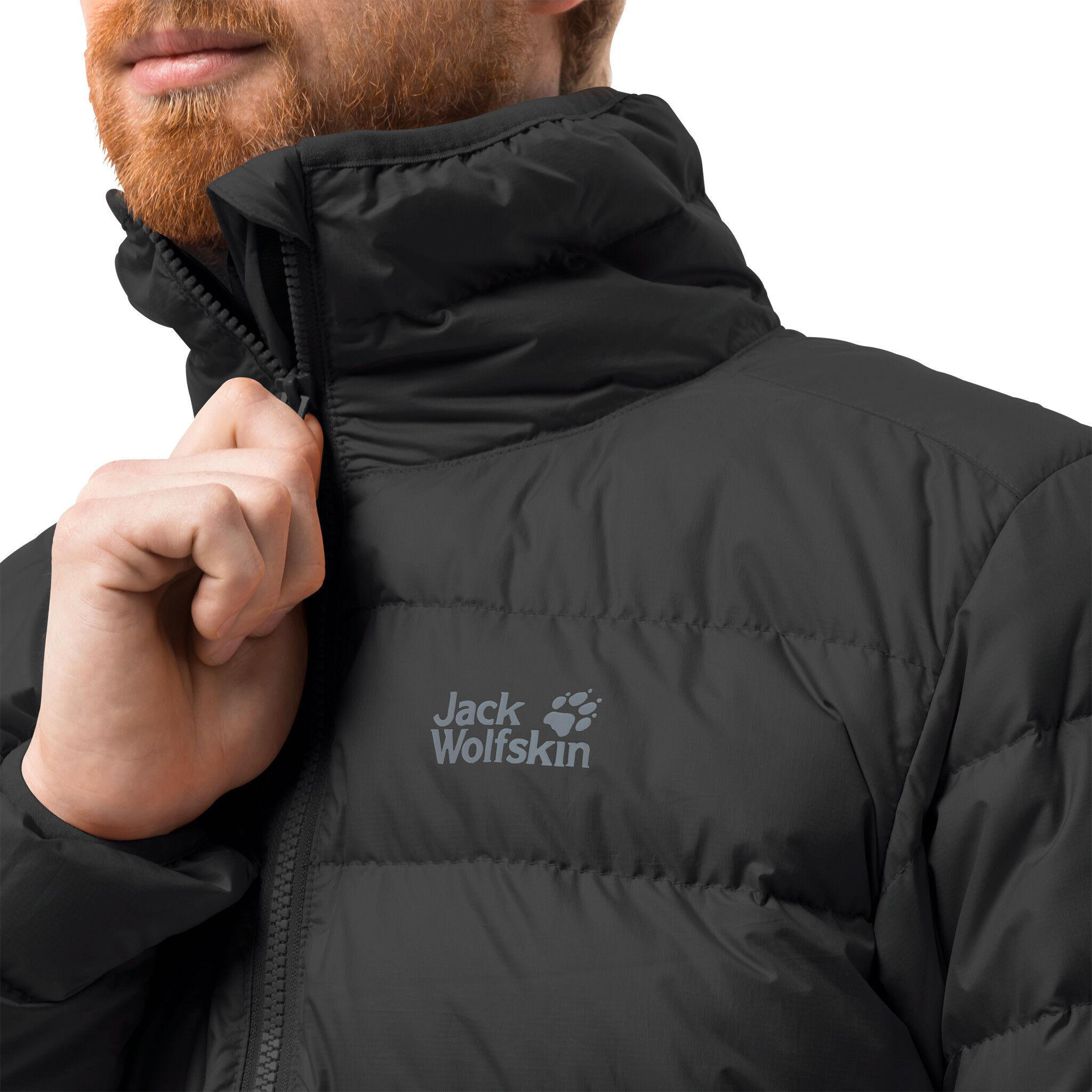 Black Herren Jack High Wolfskin Jacket Helium 53c4jqARL