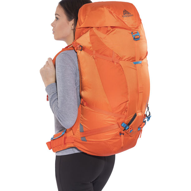 Gregory Alpinisto 50 Backpack Medium zest orange