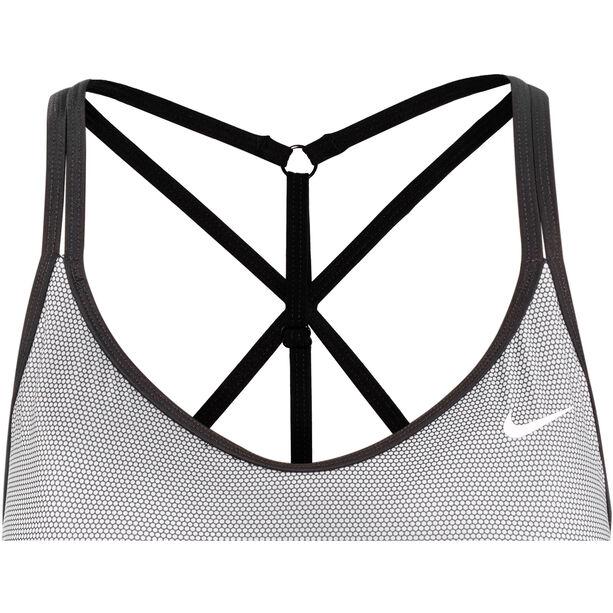Nike Swim Color Fade Strappy Crossback One Piece Badeanzug Damen black