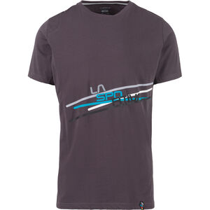 La Sportiva Stripe 2.0 T-Shirt Herren carbon/cloud carbon/cloud