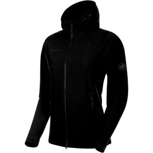 Mammut Macun SO Hooded Jacket Damen black black