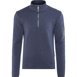 Ivanhoe of Sweden Assar Half-Zip Sweater Herren steelblue steelblue