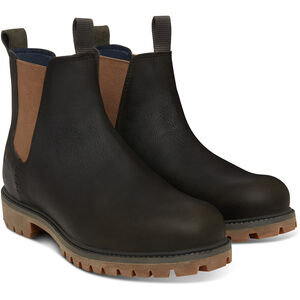 "Timberland Icon Collection Premium Chelsea Boots 6"" Herren dark green full-grain dark green full-grain"