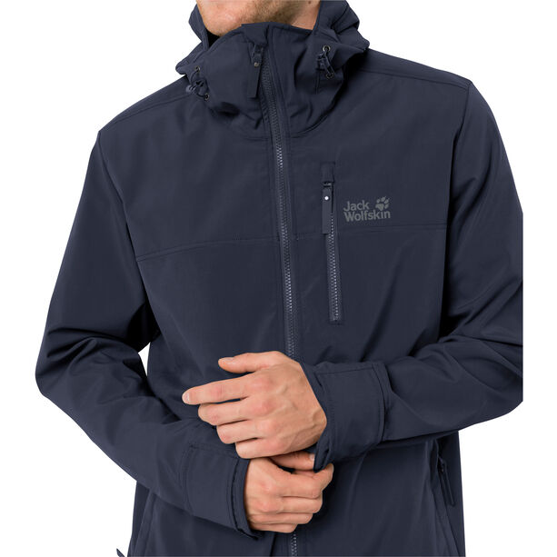 Jack Wolfskin Desert Windjacke Herren night blue