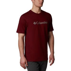 Columbia CSC Basic Logo Shortsleeve Shirt Herren red jasper red jasper