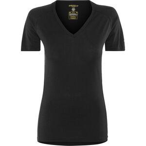 Devold Breeze V-Neck T-Shirt Damen black black