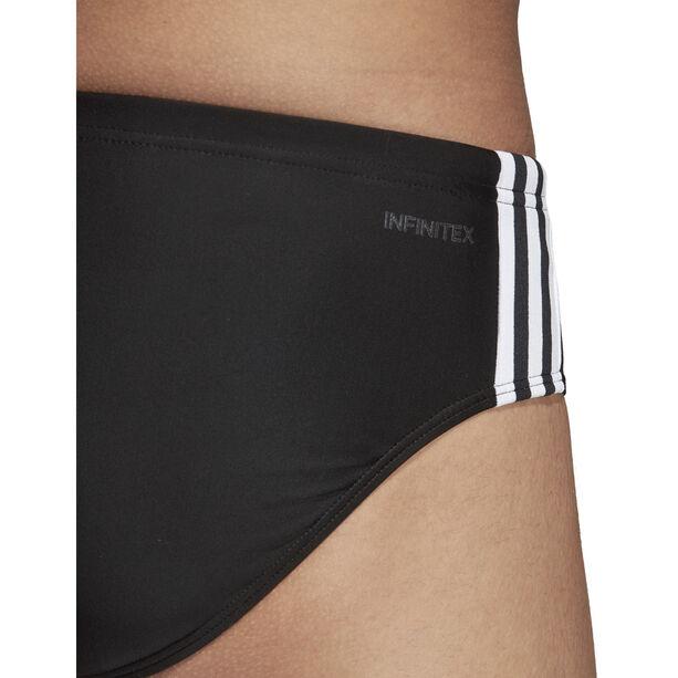 adidas Fit 3-Stripes Trunks Herren black/white