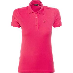 Maier Sports Ulrike Polo Shirt Damen raspberry raspberry