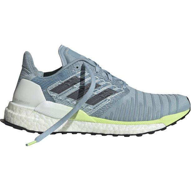 adidas Solar Boost Shoes Damen ash grey/onix/hi-res yellow