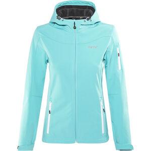 Meru Lahti Softshell Jacket Damen turquoise turquoise