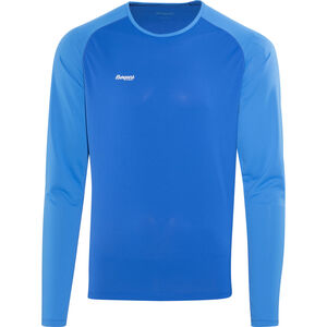 Bergans Slingsby Longsleeve Herren athens blue/light winter sky/alu athens blue/light winter sky/alu