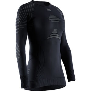 X-Bionic Invent 4.0 Langarm Rundhalsshirt Damen black/charcoal black/charcoal