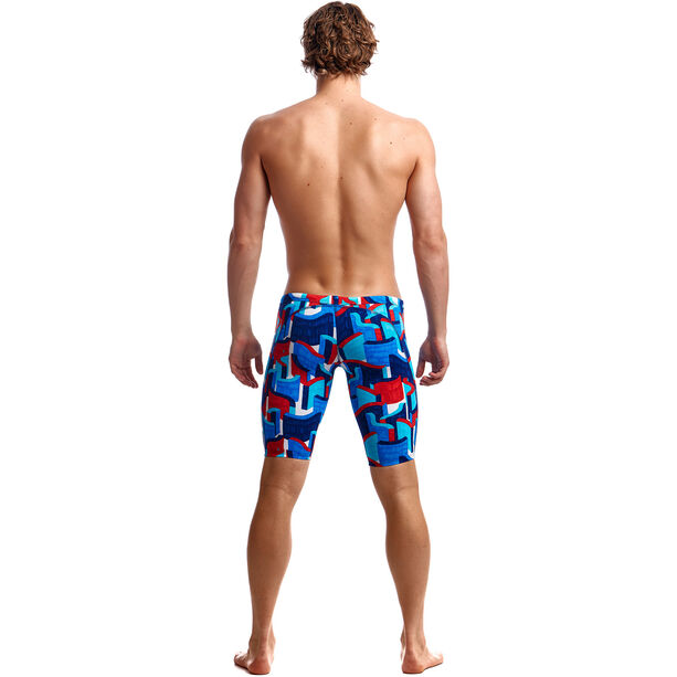 Funky Trunks Training Jammers Herren block rock