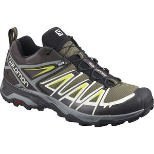 Salomon X Ultra 3 Shoes Herren burnt olive/shale/acid lime burnt olive/shale/acid lime