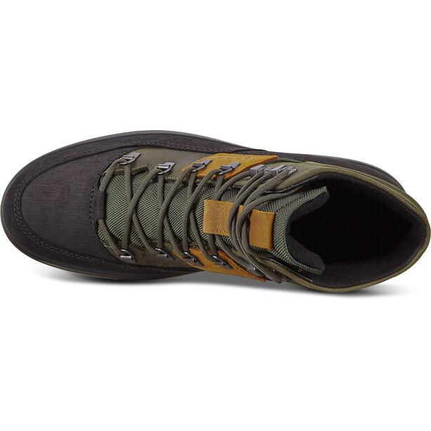 ECCO Soft 7 Tred Stiefel Herren black/deep forest/amber