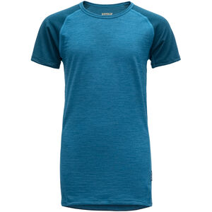 Devold Breeze T-Shirt Kinder blue blue