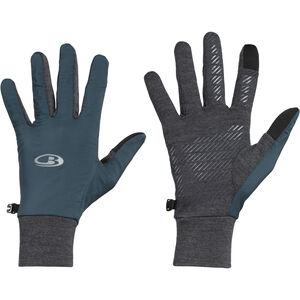 Icebreaker Tech Trainer Hybrid Handschuhe nightfall/jet heather nightfall/jet heather