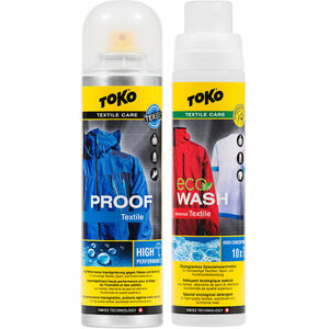 Toko Duo-Pack Textile Proof & Eco Textile Wash 2 x 250ml
