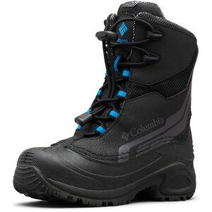 Columbia Bugaboot Plus IV Omni-Heat Stiefel Jugend black/hyper blue black/hyper blue