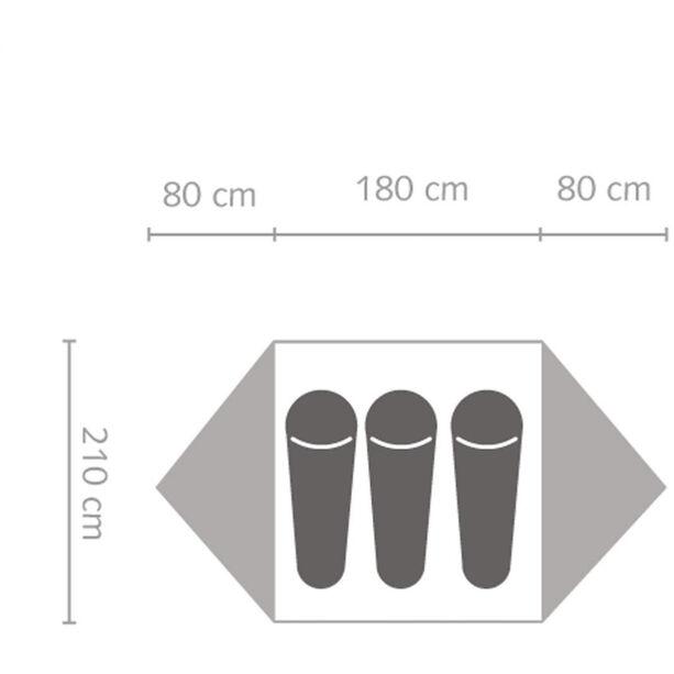 SALEWA Latitude III Tent cactus/grey