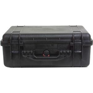 Peli Box mit Schaumeinsatz 1520 schwarz schwarz