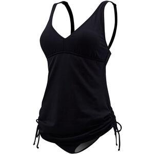 TYR Solid V-Neck Sheath Badeanzug Damen black black