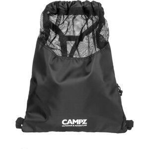 CAMPZ Gymbag Sportbeutel schwarz schwarz