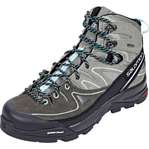 Salomon X Alp LTR GTX Hiking Shoes Damen shadow/castor gray/aruba blue shadow/castor gray/aruba blue