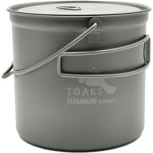 Toaks Titanium Pot with Bail Handle 1100ml