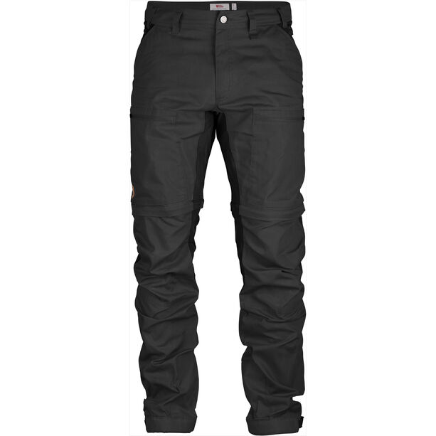 Fjällräven Abisko Lite Trekking Zip-Off Trousers Herren dark grey-black