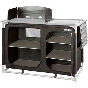 Brunner Azabache CTW HWT Küchenschrank schwarz schwarz