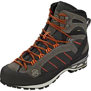 Hanwag Makra Combi GTX Shoes Herren asphalt/orange asphalt/orange