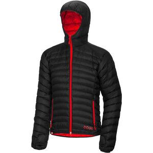 Ocun Tsunami Down Jacket Herren black/red black/red