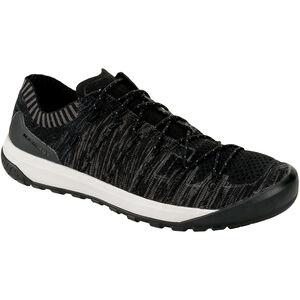 Mammut Hueco Knit Low Shoes Herren black-titanium black-titanium